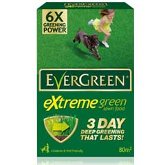 Evergreen Extreme Green Lawn Food 80m