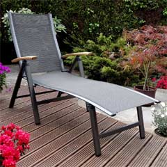 Rondeau Leisure Turin Aluminium Sun Lounger