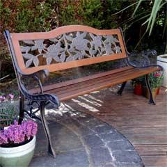 Rondeau Leisure Roanne Resin 126cm Back Bench