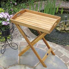 Rondeau Leisure Kent Acacia Folding Tray & Stand