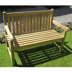 Rondeau Leisure Teak Chunky 150cm Bench