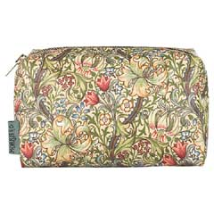 Heathcote & Ivory Morris & Co Golden Lily Cosmetic Bag
