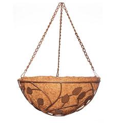 Botanico Woodland Hanging Basket 14in