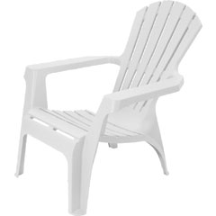 Greenfingers Adirondack Chair - White