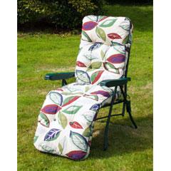 Ellister Premium Padded Relaxer Chair - Leaf