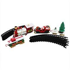 Premier Christmas Santas Musical Train Set