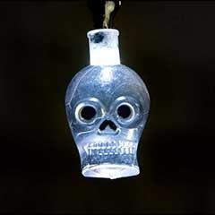 Halloween Skull LED String Lights