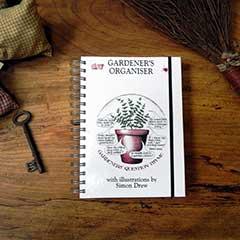 The Gardeners Organiser Book by Simon Drew
