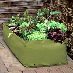 Haxnicks Multipurpose Reuseable Growbag Planter - 100cm
