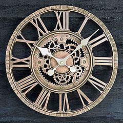 Image of Smart Garden Newby Clock - Bronze