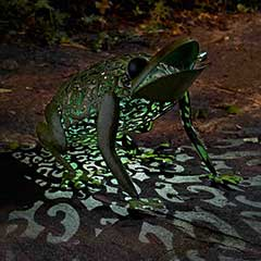 Smart Garden Frog Solar Light - 33cm