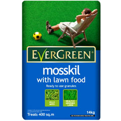 Evergreen Mosskill with Lawn Food 14kg