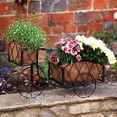 Smart Garden Metal Trike Planter - 60cm Width