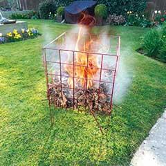 Easy To Assemble Garden Incinerator - 44 x 64cm