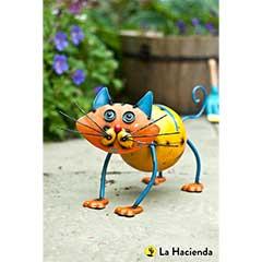 Image of La Hacienda Colin The Cat Garden Ornament