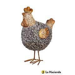 La Hacienda Stone Effect Chicken - 26cm Height