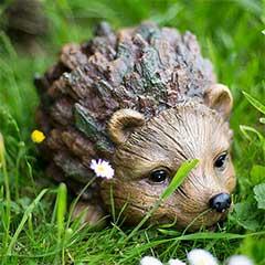 La Hacienda Woodland Hedgehog Garden Ornament