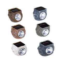 Sunflare Solar Light Mini Rock