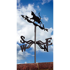 Gardman Cat and Mouse Weathervane - 31cm Wdith