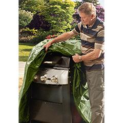 Ambassador 3 Burner Polyester BBQ Cover 149 x 64 x 125cm high