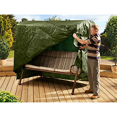 Ambassador Polyester 3 Seater Swing Seat Cover - 220 Width