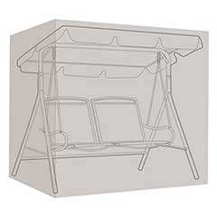 Gardman Polyethylene 2 Seater Swing Hammock Cover - 202cm Width