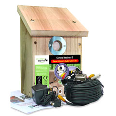 Wildlife World Colour and Infrared Camera Nest Box