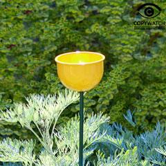 Wildlife World Colour Cup Bird Feeder Yellow