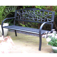 Rondeau Leisure Jersey Steel Bench - 127cm