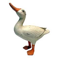 Design Toscano Rustic Standing Duck - 29cm Height