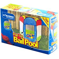 Kids Pop-Up Ball Pool with Balls