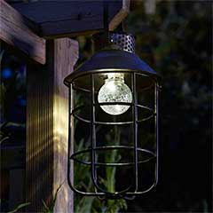 Zephyr Solar Lantern - 28.5cm Height