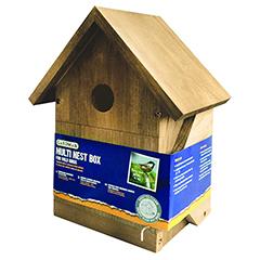 Gardman Wild Bird Multi Nest Box - 28cm Height