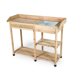 Ellister Potting Table with Drawer - Large