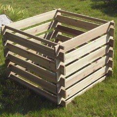 Greenfingers FSC Fir Compost Bin - 410 Litres