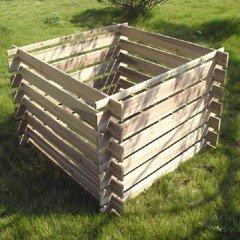 Greenfingers FSC Fir Compost Bin - 890 Litres