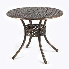 Ellister Stamford  Round Table - 85cm Bronze