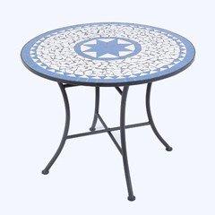 Ellister Palermo Mosaic Patio Table - 80cm