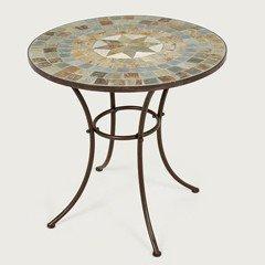 Ellister Zurich Mosaic Patio Table - 70cm