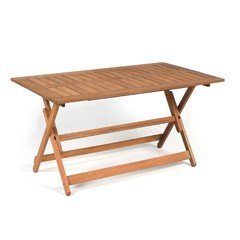 Greenfingers Loreto Rectangular Folding Table - 140cm