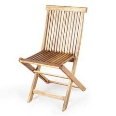 Ellister Alnwick FSC Acacia Folding Chair