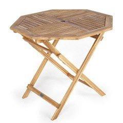 Greenfingers Hawaii FSC Acacia Octagonal Folding Table - 90cm