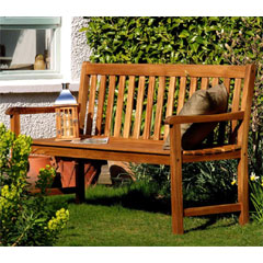 Greenfingers Hawaii FSC Acacia 3 Seater Bench
