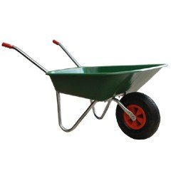 Greenfingers Budget Plastic Wheelbarrow 60L