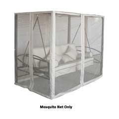 Mosquito Net for Greenfingers Regency Swing Seat Gazebo