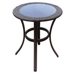 Greenfingers Moncafa Rattan 60cm Round Table
