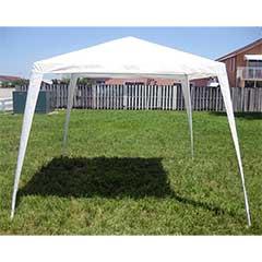 Greenfingers Outdoor Steel Pole 3 x 3m Gazebo - White