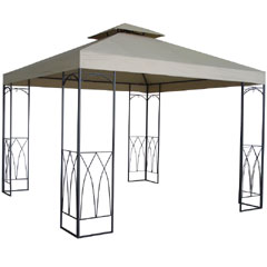 Ellister Luxury Arch Square Gazebo 3m