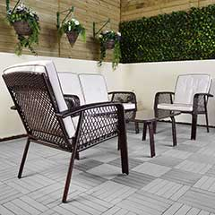 Greenfingers Lima 4 Seater Lounge Set