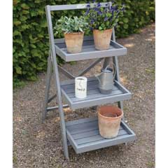 Fallen Fruits FSC Pine Stepped Plant Stand